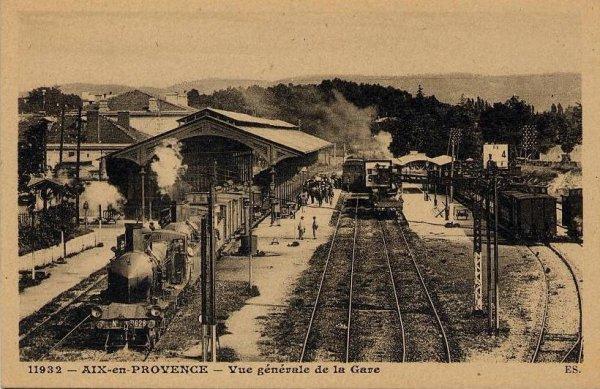 L 39 ancienne ligne aixsalon de provence for Train marseille salon de provence