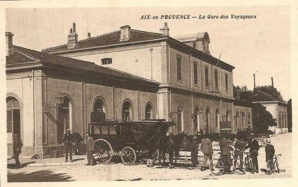L 39 ancienne ligne aixsalon de provence - Train salon de provence ...